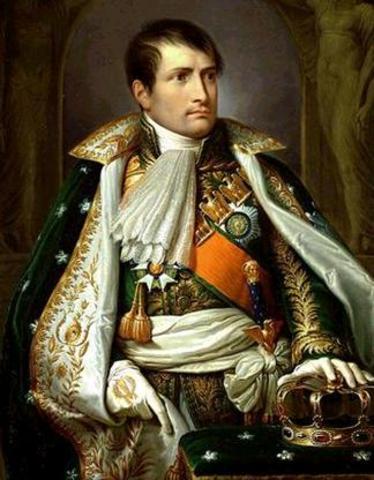 Start of Napoleon's Rule