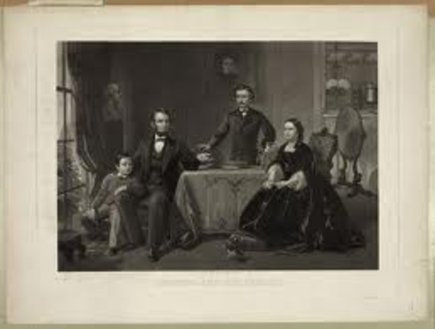Lincoln marries Mary Todd
