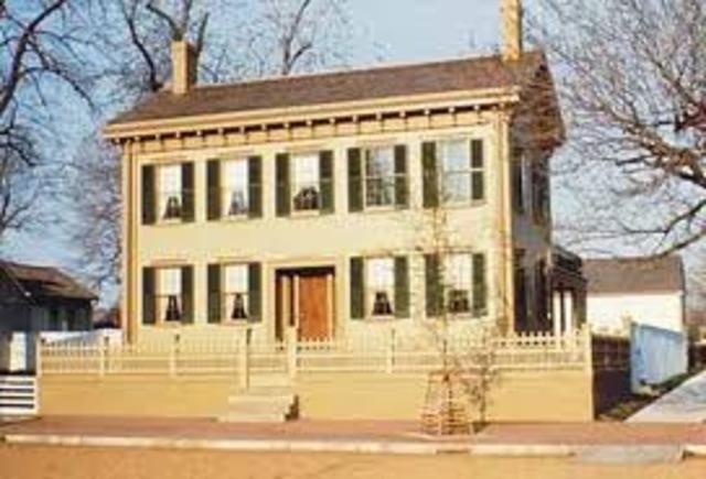 The Lincoln's move to Illinois