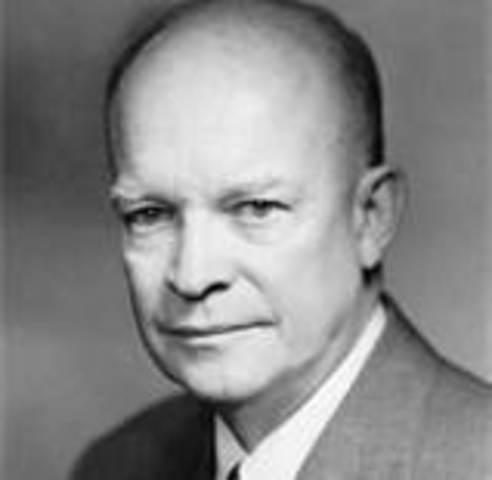 January 20, 1953 – Dwight D. Eisenhower takes office as POTUS