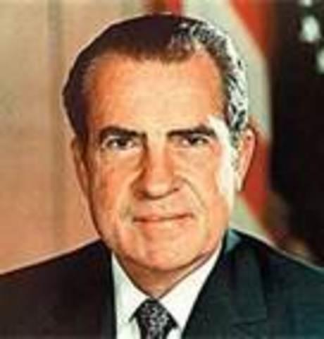 January 20, 1969 – Richard M. Nixon takes office as POTUS