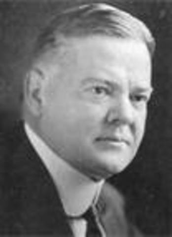 Herbert Hoover takes office as POTUS