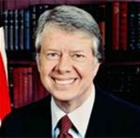 Jimmy Carter takes office as POTUS