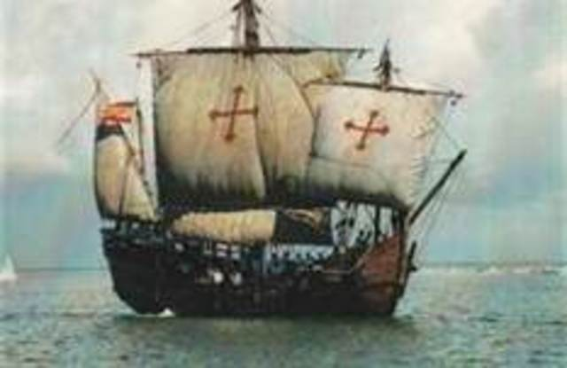 Christopher Columbus founds the first Spanish colony in the Americas