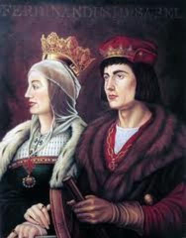 Matrimonio de Isabel I y Fernando II
