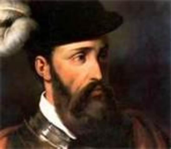 Francisco Pizarro captures the Incan emperor, Atahualpa