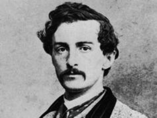 John Wilkes Booth is shot and killed