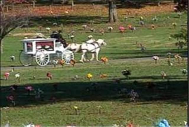 Elizabeth Olten laid to rest