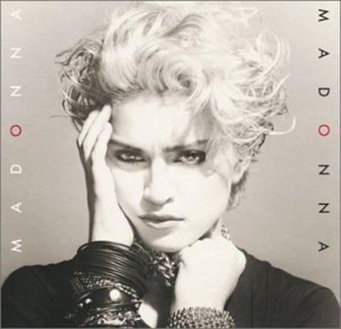 "Madonna released her first album ""Madonna"""