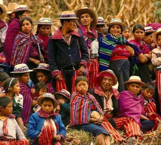 La población era de 2 millones en el sur de Guatemala