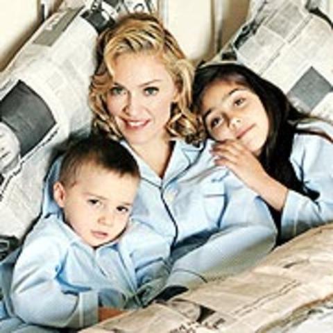 Madonna gave birth to her second child Rocco