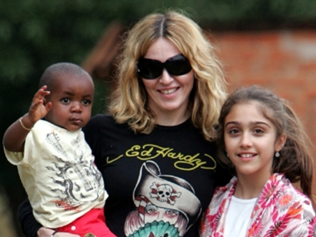 Madonna adopted her third son David
