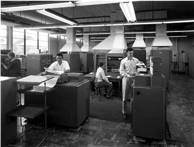 IBM's first commercial scientific computer