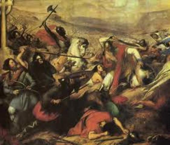 Invasión de España por Francos y Suevos