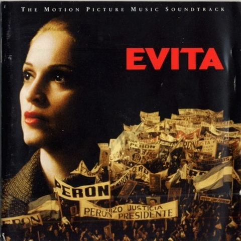 Madonna appeared as the titular heroine of Evita.