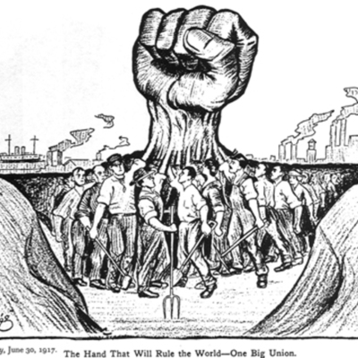 History of Labor Unions timeline