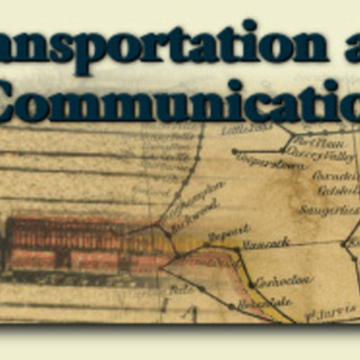 Developments in Transportation and Communication in America timeline