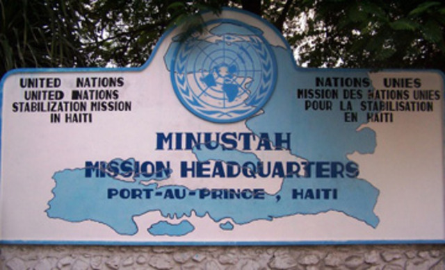Creación de la Misión de lasNaciones Unidas para la Estabilidad de Haití(MINUSTAH)