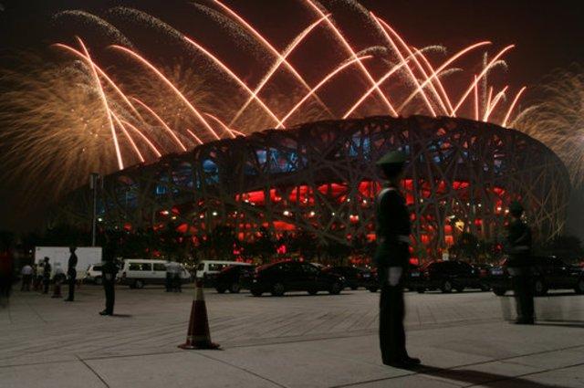 Summer Olympics in Beijing Started