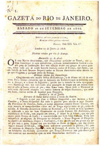 GACETA DEL RÍO DE JANEIRO