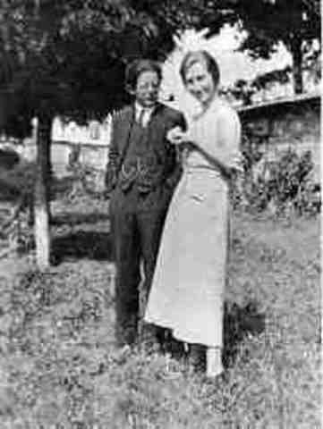 Piaget se casa con  Valentine Châtenay