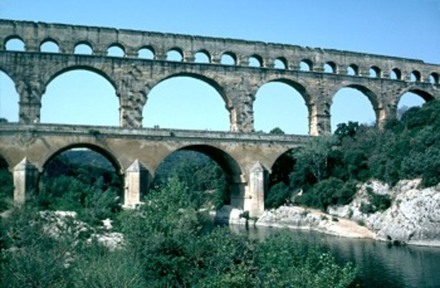 Romans beginning public health and sanitation systems