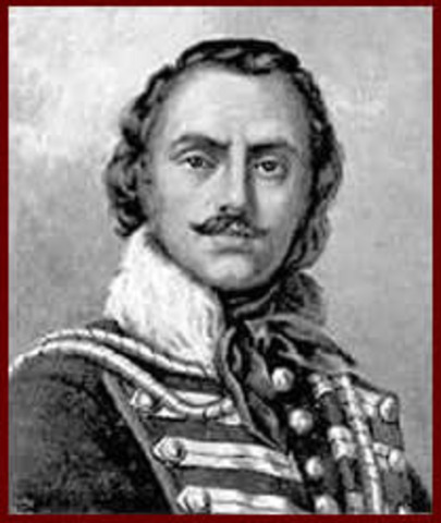 Casimir Pulaski arrives in America