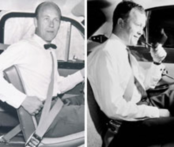 Car Seatbelts Introduced