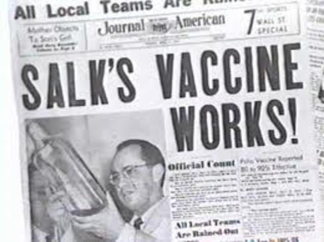developed polio vaccine