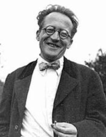 Erwin Schrodinger Picture