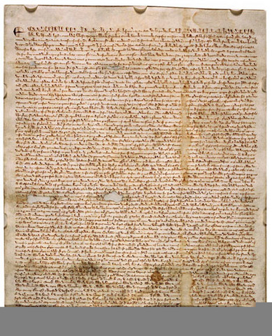 The Signing of The Magna Carta
