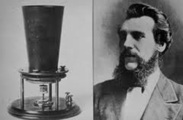 Telephone invented by Alexander Graham Bell