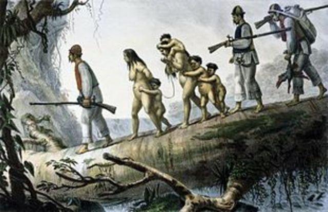 Slavery of Native Americans
