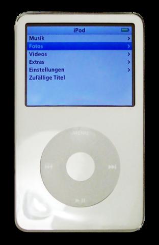 IPOD classic - quinta generacion