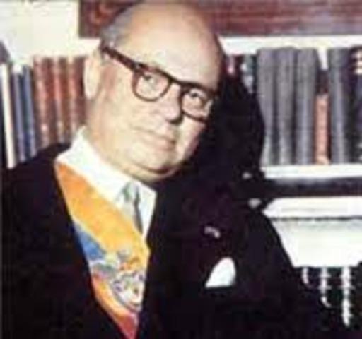 (1966-1970) Carlos Lleras Restrepo