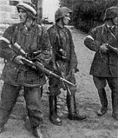 Polish Underground State and Underground Home Army established