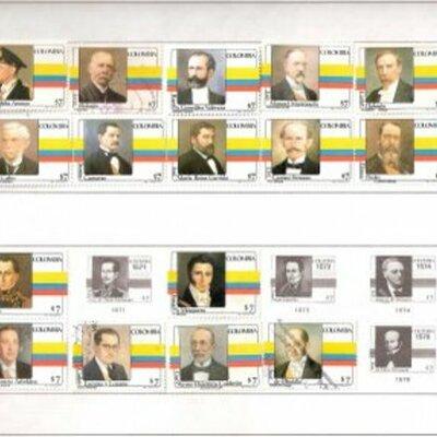 ultimos 10 presidentes de colombia timeline