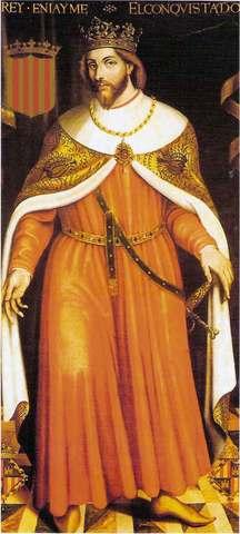 Jaume I el conqueridor escriu el llibre dels feyts
