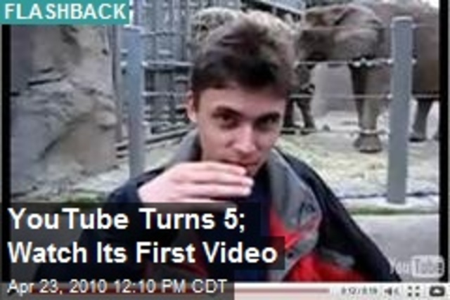 Youtubes First Uploaded Video
