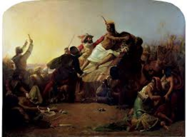 Spanish Adventurers and the Inca