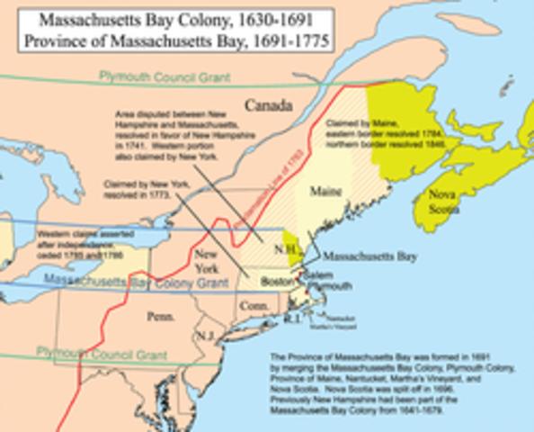 Engsli found Massachusetts