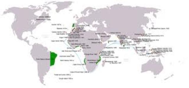 Ocean trading areas