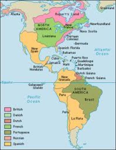 Englsih establish colonial empire