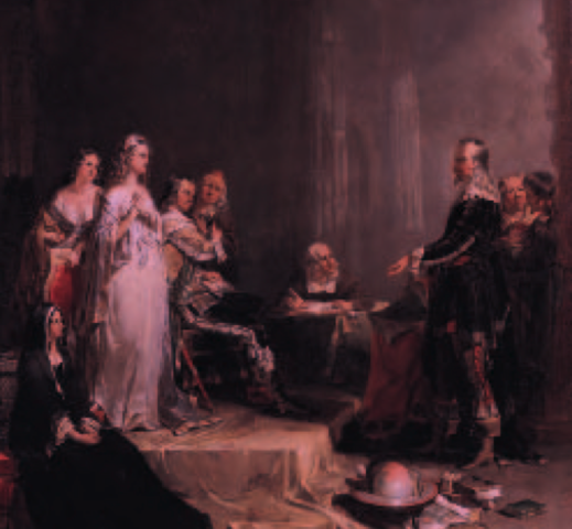 Columbus persuaded Queen Isabell