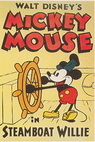 The first animated cartoon to feature synchronized sound