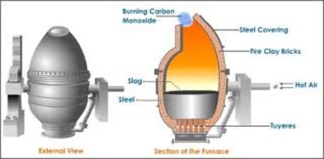 Bessemer Process Industrialized