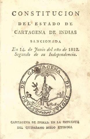 CONSTITUCION DEL ESTADO DE CARTAGENA DE INDIAS