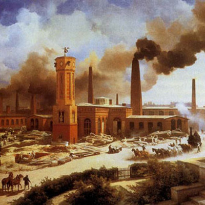 The Industrial Revolution timeline