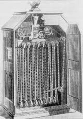 Thomas Edison Builds Kenetoscope