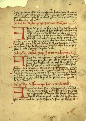 Cròniques i cavallers S. XIII